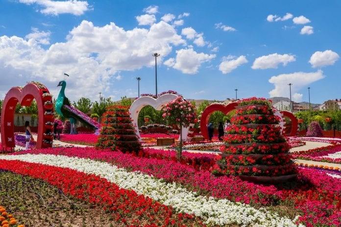 Selçuklu Çiçek Bahçesi